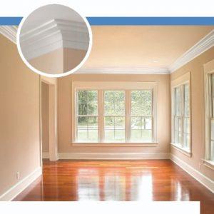 Molduras de telgopor para techo